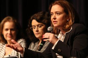 Regina Nunes, presidente da Standard & Poors, no debate sobre Liderança Feminina Gera Lucro, no CCBB Brasilia