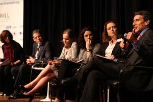 Durante o debate sobre Liderança Feminina Gera Lucro, no CCBB Brasilia