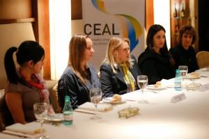 """31-07-2014 - São Paulo - Almoço do CEAL com a presença da WILL. """"Como o princípio da equidade influencia as estratégias e os resultados das empresas"""