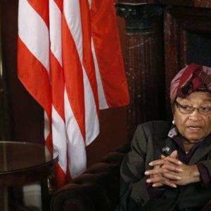 Libéria: Premio Nobel Ellen Johnson Sirleaf