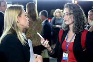 Silvia Fazio em entrevista para GPS Brasilia