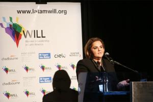 Neila Leal,Gerente Executiva Juridica Banco do Brasil, no debate sobre Liderança Feminina Gera Lucro, no CCBB Brasilia