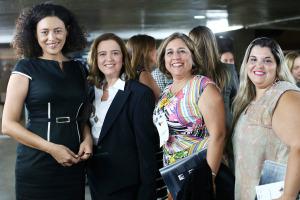Rossane Costa, Comunicação Will, Regina Nunes, Presidente Standard & Poors e convidadas