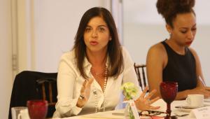 Claudia Braga Diretora do Gabinete da Presidência e Presidente do Comitê de mulheres da HP Brasil